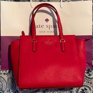 Red Kate Spade satchel